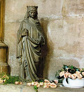 Das Rosenwunder der Elisabeth von Thürigen