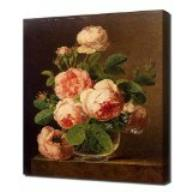Gemälde Van Dael Still Life with Flowers and Fruit